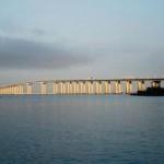 A ponte tem 13,29 km de extensão, ficando entre as 7 maiores do mundo (Foto: Divulgação)