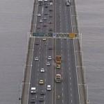 Em dias normais, passam pela ponte cerca de 150.000 veículos (Foto: Divulgação)