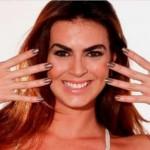 Ela superou várias mulheres lindas no concurso de Panicats.  (Foto:Divulgação)