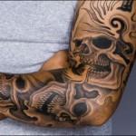 Os braços dos homens também são muito usados para fazer belas tatuagens (Foto: Divulgação)