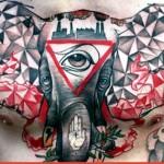 Tatuagem muito bem trabalhada (Foto: Divulgação)