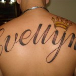 Outra tatoo homenageando alguém (Foto: Divulgação)