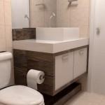 O gabinete é um elemento essencial para o banheiro. (Foto:Divulgação)