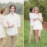 Vestidos curtos ficam lindos para casamento no campo (Foto: Divulgação)