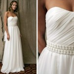 O vestido pode ser clássico, com menos detalhes (Foto: Divulgação)