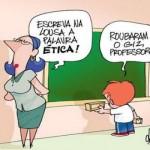 Relação aluno e professor.  (Foto:Divulgação)