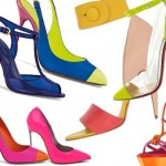 Os calçados em cores neon são forte tendência. (Foto: divulgação)