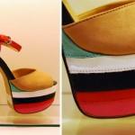 Os coloridos também fazem parte da coleção Arezzo de verão (Foto: divulgação).