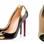 Os sapatos com pontas metalizadas aparecem em grande estilo (Foto: divulgação).