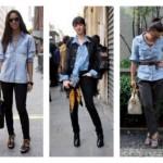A camisa jeans podem ser usada em diferentes ocasiões (Fotodivulgação).