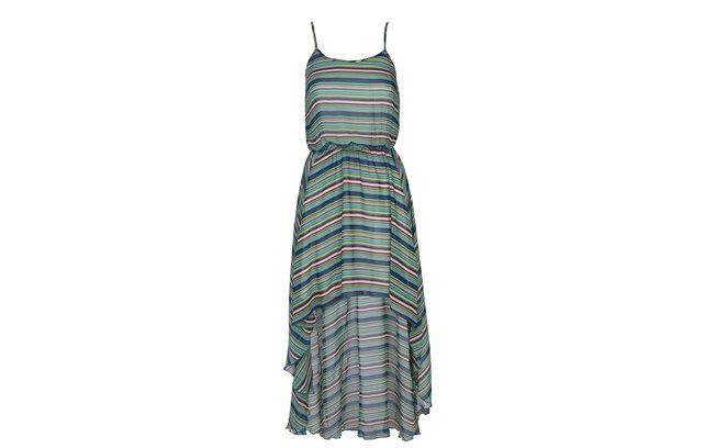Vestido com listras por R$ 89,90 (Foto: divulgação)