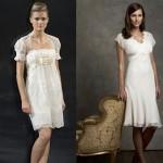 As mangas e boleros também podem ser usadas em vestidos de noiva para casamento civil (Foto: divulgação).