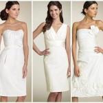 Os vestidos de noiva brancos são os mais indicados para casamento civil (Foto: divulgação).