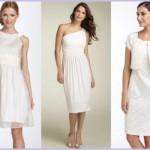 Os vestidos de noiva para casamento civil devem ser bonitos e elegantes (Foto: divulgação).