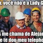 Usando a música da Lady Gaga (Foto: Divulgação)