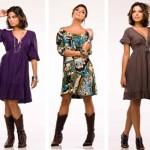 A atriz Ísis Valverde usando vários modelos de vestido soltinho. (Foto:Divulgação)