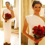 A mulher madura deve preferir um vestido sóbrio e sem excessos. (Foto:Divulgação)