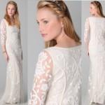 Vestido de noiva com detalhes delicados. (Foto:Divulgação)
