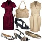 A combinação entre vestido, sapato e bolsa é essencial. (Foto:Divulgação)