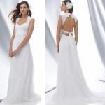 Os tecidos mais leves são os mais indicados para noivas baixinhas (Foto: divulgação).