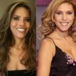 A apresentadora Márcia mudou muito seu visual depois da fama (Foto: divulgação).