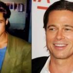 O ator Brad Pitt abandonou o visual brega e deu vida a um novo estilo após se tornar famoso (Foto: divulgação).