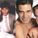 O casal Zezé di Camargo e Zilu também mudaram o visual após a fama do cantor se espalhar em todo o Brasil (Foto: divulgação).