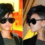 Um corte bem exótico de Rihanna. (Foto:Divulgação)