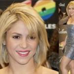 Shakira também já foi adepta ao chanel. (Foto:Divulgação)