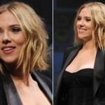Scarlett Johansson optou por um corte curto. (Foto:Divulgação)