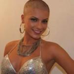 Babi Rossi deu adeus aos seus lindos cabelos. (Foto:Divulgação)