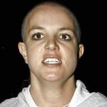 Britney raspou a cabeça. (Foto:Divulgação)