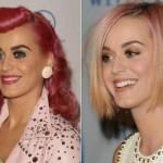 Katy Perry já pintou o cabelo de rosa. (Foto:Divulgação)