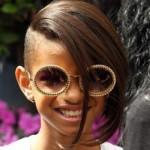 A filha de Will Smith, apesar de nova, adora mudar o cabelo. (Foto:Divulgação)