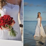 O vestido deve ser confortável, fresco e não interferir nos movimentos da noiva. (Foto:Divulgação)