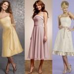 O vestido curto pode ser usado pela madrinha de casamento. (Foto:Divulgação)