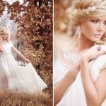 O vestido de noiva vintage permite uma viagem no tempo. (Foto:Divulgação)