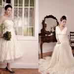 Os detalhes dos vestidos vintage não são glamorosos. (Foto:Divulgação)