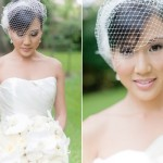 A noiva usa vestido vintage com voilette. (Foto:Divulgação)