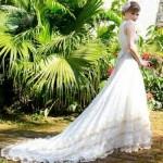 A renda é muito valorizada pelo vestido vintage. (Foto:Divulgação)