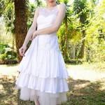 O branco puríssimo é uma das principais apostas do vintage. (Foto:Divulgação)