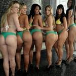 Algumas das candidatas ao concurso Miss Bumbum 2012 já são conhecidas (Foto: Divulgação)