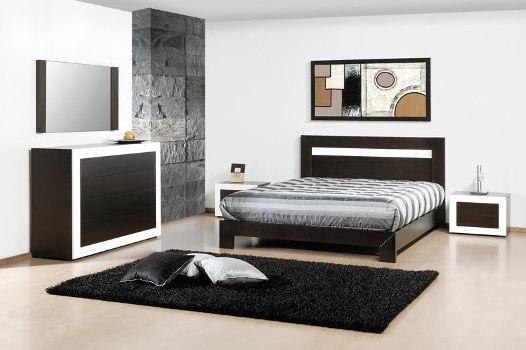 Um ambiente sóbrio decorado com preto e branco (FotoDivulgação)