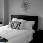Uma decoração cheia de estilo, seguindo a proposta black & White. (Foto:Divulgação)