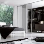 Quarto moderno decorado com preto e branco. (Foto:Divulgação)