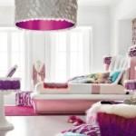 Cores delicadas e românticas para decorar o quarto feminino.(Foto:Divulgação)