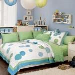 Azul, branco e verde dividem espaço na decoração. (Foto:Divulgação)