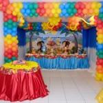 A festa da Turma da Mônica tem tudo para ser alegre e colorida.  (Foto:Divulgação)