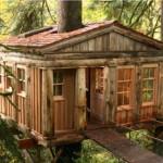 Uma casa da árvore bem construída chama muito a atenção (Foto: Divulgação)