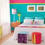 Várias cores compartilham o mesmo ambiente. (Foto:Divulgação)